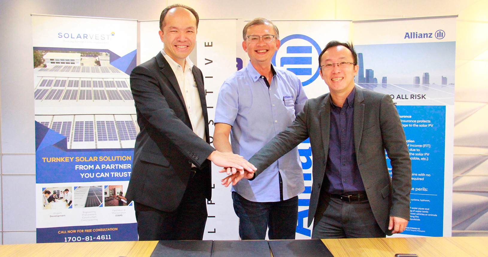 Solarvest and Allianz MoU