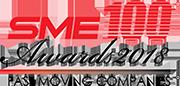 SME 100 Awards 2018 logo