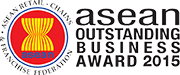 Asean Outstanding Business Award 2015 logo