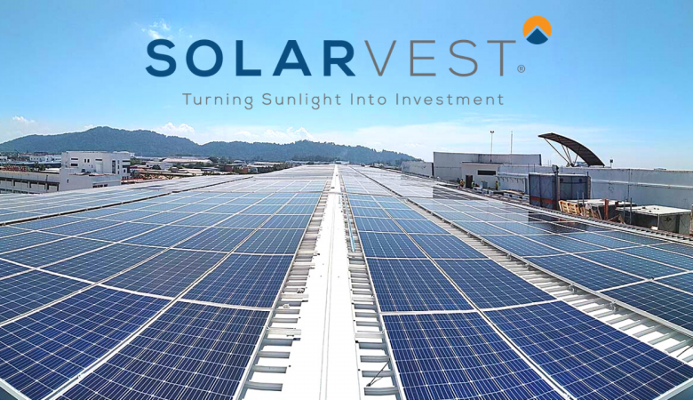 Solarvest rooftop solar panel