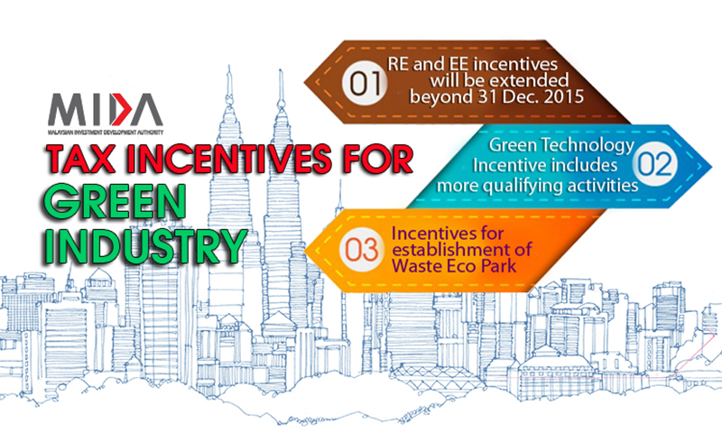 New Green Incentives by mida