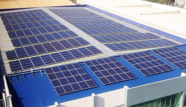 Bukit Minyak factory rooftop solar panels by Solarvest
